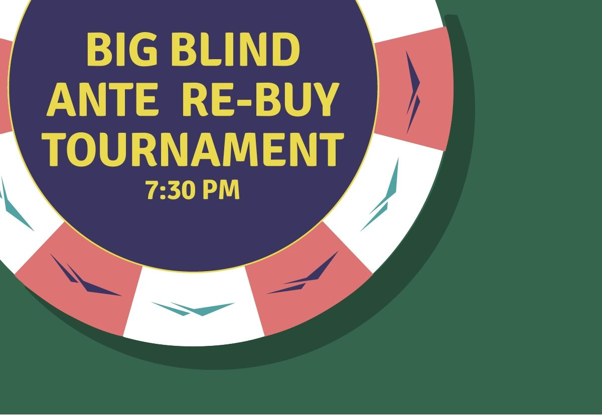 Big Blind Ante Re Buy Tournament Mountaineer