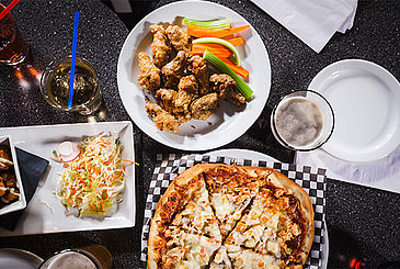 Pizza, Wings and Appetizers